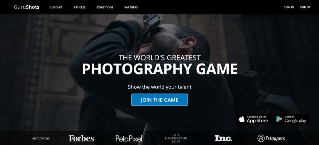 Gurushots is a photography contest game-changer.